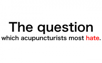 The reason why acupuncture doesn't workの詳細へ